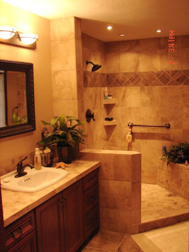 Bathroom remodeling home basics remodeling for Bathroom remodel images